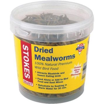 Hiatt Manufacturing 38096 3.5 Oz. Dried Mealworms