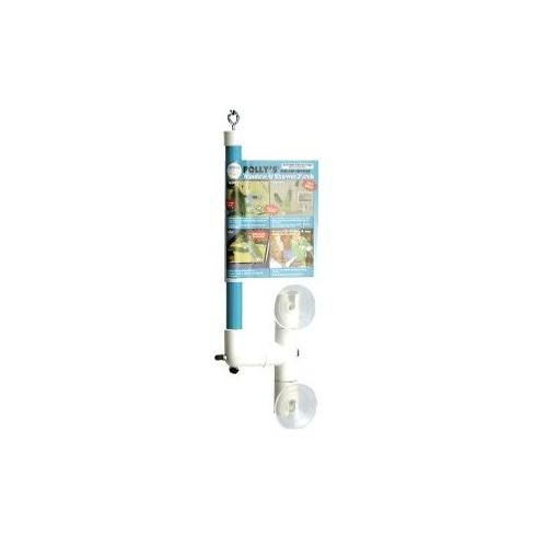 Topdawg Pet Supplies Polly's Window and Shower Bird Perch, Small PYP50748 POLLY'S PET PRODUCTS INC