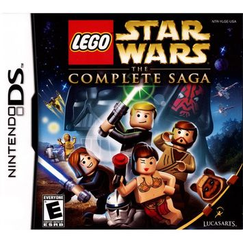 Lucasarts Entertainment Company LucasArts 712725024833 Lego Star Wars: The Complete Saga for Nintendo DS