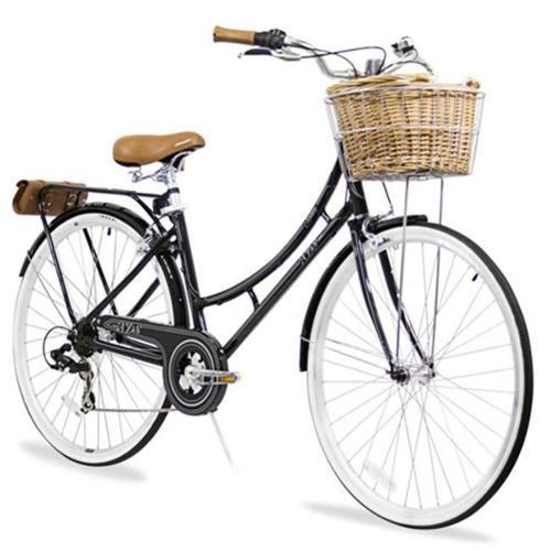 XDS Nadine7Black Nadine 7-Speed Aluminum Dutch Bike Black