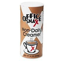 Office Snax OFX00020 12Oz Canister Non-Dairy Creamer