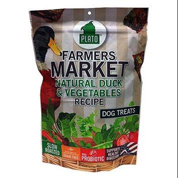 Plato Pet Treats Plato - Duck & Veggie Dog Treats