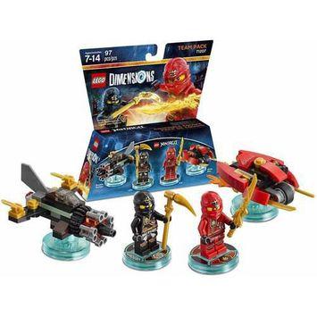 Warner Brothers Wb Games - Lego Dimensions Team Pack (lego Ninjago) - Multi