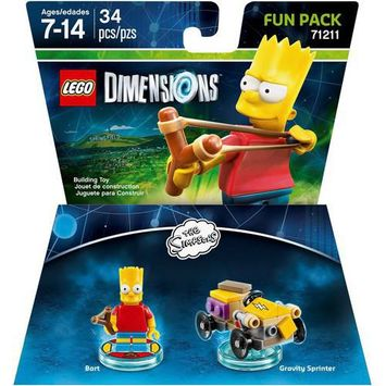 Warner Brothers Wb Games - Lego Dimensions Fun Pack (the Simpsons: Bart) - Multi