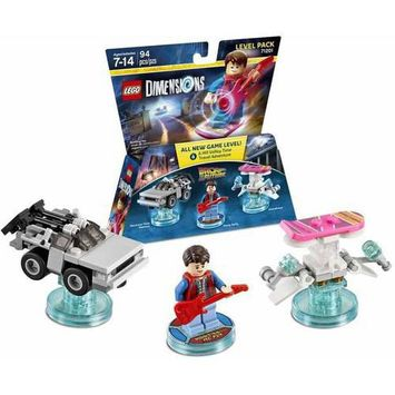 Warner Brothers Wb Games - Lego Dimensions Level Pack (back To The Future) - Multi