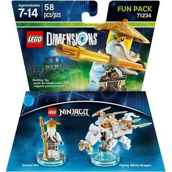 Warner Brothers Wb Games - Lego Dimensions Fun Pack (lego Ninjago: Sensei Wu) - Multi