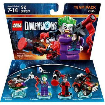 Warner Brothers Wb Games - Lego Dimensions Team Pack (dc Comics: The Joker & Harley Quinn) - Multi