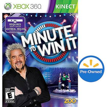 Southpeak Games Minute To Win It PRE-OWNED (Xbox 360)