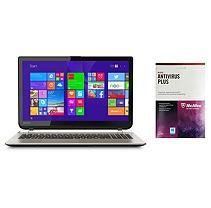 "Toshiba Satellite S55T-B5260 15.6"" Laptop Computer Intel Core i7-4710HQ, 12GB Memory, 1TB Hard Drive, with McAfee"