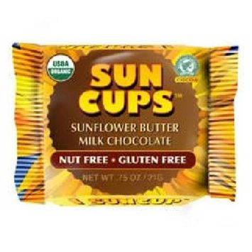 Sun Cups BG18622 Sun Cups Milk Chocolate - 24x0.75OZ