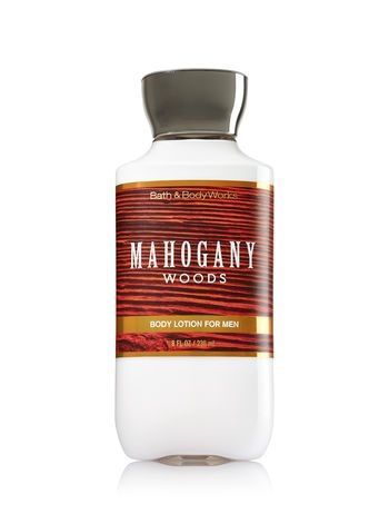 Bath & Body Works® Signature Collection MAHOGANY WOODS Body Lotion