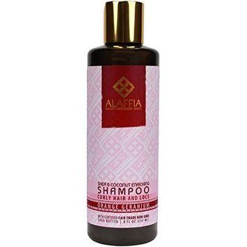 Alaffia- Virgin Coconut & Shea Butter Enriching Shampoo- 8 oz
