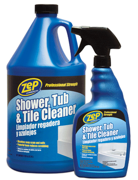 ZEP Bathroom Cleaning Supplies 1 gal. Shower Tub and Tile Cleaner (Case of 4) ZUSTT128