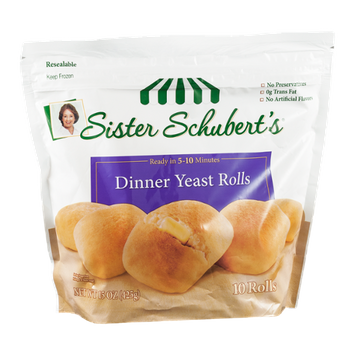 Sister Schubert's Dinner Yeast Rolls - 10 CT