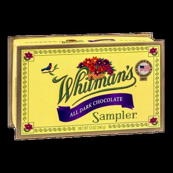 Whitman's Sampler All Dark Chocolate