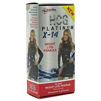 Sport Performance Supplements 0.5 oz (15ml) HCG Platinum X-14
