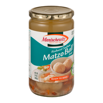 Manischewitz Matzo Ball Soup Reduced Sodium
