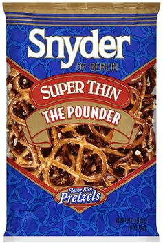 Snyder® of Berlin Pretzels Super Thin