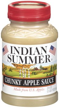 Indian Summer Chunky Apple Sauce