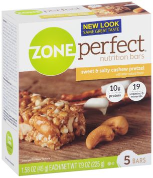 ZonePerfect® Sweet & Salty Cashew Pretzel Nutrition Bars