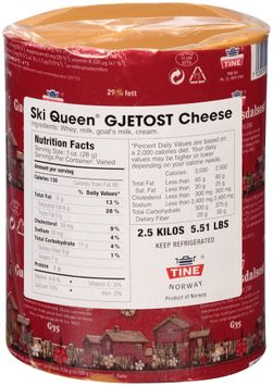 Ski Queen® Gjetost Cheese Wheel
