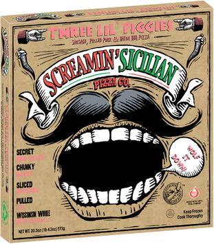 Screamin' Sicilian™ Pizza co Three Lil' Piggies Pizza
