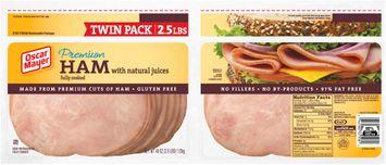 Oscar Mayer Smoked Ham Twin Pack