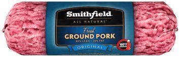 Smithfield® All Natural Original Fresh Ground Pork