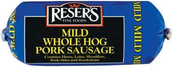Reser's Fine Foods Mild Whole Hog Pork Sausage
