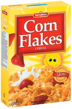 Springfield Corn Flakes Cereal