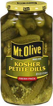 mt Olive Kosher Petite Dills Fresh Pack