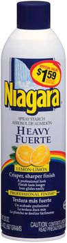 Niagara® Heavy Lemon Spray Starch