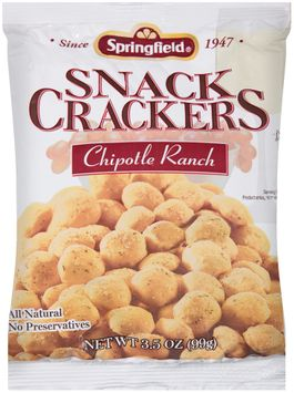 springfield® chipotle ranch snack crackers