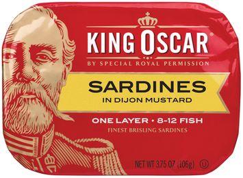 King Oscar® One Layer Sardines in Dijon Mustard