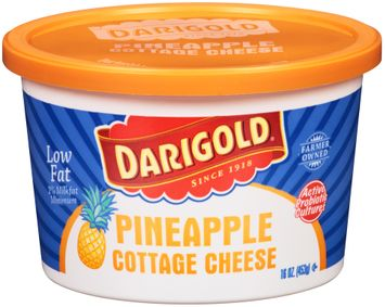 Darigold® Pineapple Low Fat Cottage Cheese