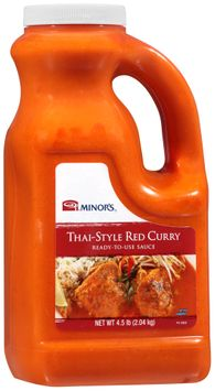 Minor's® Thai-Style Red Curry