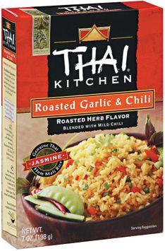 Thai Kitchen TK Roasted Garlic & Chili Jasmine Rice Jasmine Rices