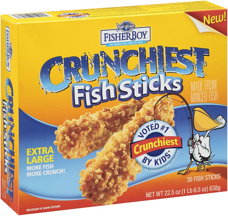 Fisher Boy Crunchiest Fish Sticks