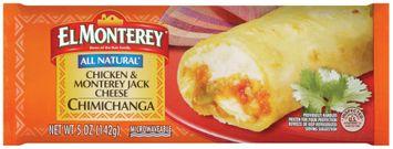 el monterey® chicken & monterey jack cheese chimichanga