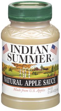 Indian Summer Natural Apple Sauce