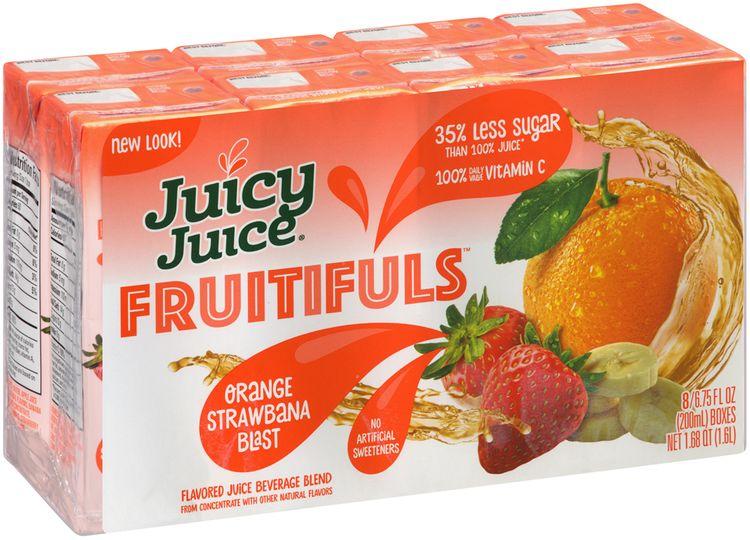 Juicy Juice® Fruitifuls™ Orange Strawberry Blast Flavored Juice Beverage Blend