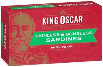 King Oscar™ Skinless & Boneless Sardines in Olive Oil