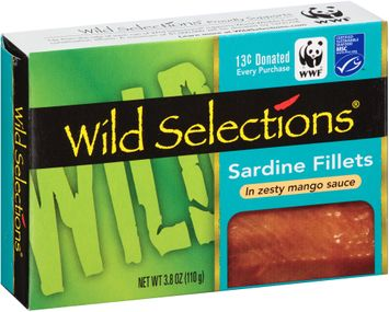 Wild Selections® Sardine Fillets in Zesty Mango Sauce