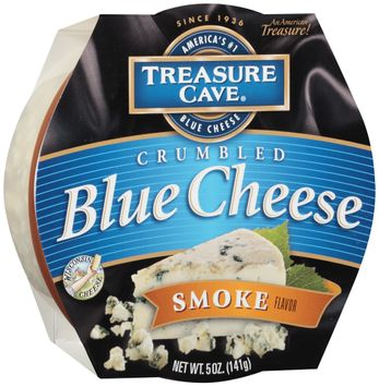 Treasure Cave® Smoke Flavor Crumbled Blue Cheese