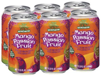Nature's Nectar Mango Passion Fruit, Modified 10 Juice Drink