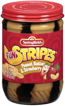 Springfield Peanut Butter W/Strawberry Jelly Fun Stripes