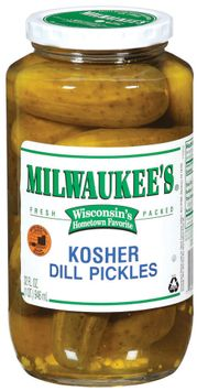 Milwaukee's Kosher Dill Pickles