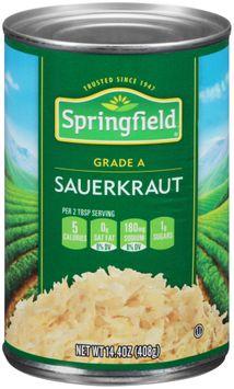 Springfield® Sauerkraut