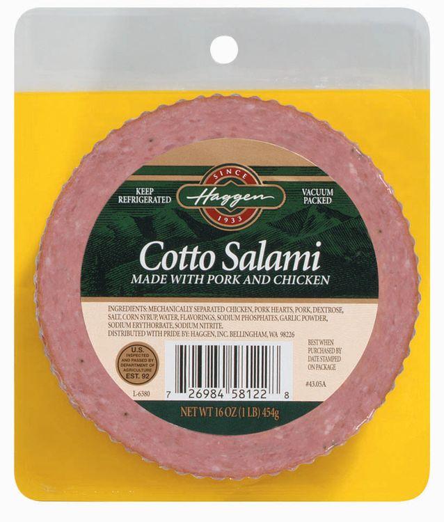 Haggen Cotto W/Pork & Chicken Salami