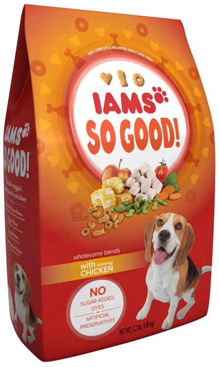 Iams™ So Good! Wholesome Blends With Savory Chicken Adult Dog Food